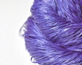 Blue periwinkle on its way to paradise OOAK - Silk Tape Lace Yarn - SUMMER EDITION
