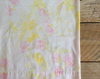 Vintage Floral Pillowcase No. 2
