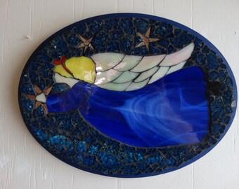 Mosaic Angel Wall Hanging, Home Decor