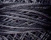 Size 8, O126, Valdani Perle Cotton, Old Cottage Grey