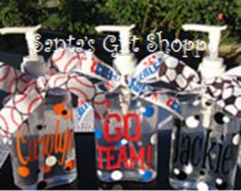 Hand Sanitizer (Personalized) - ONE  8oz. - Teacher Gift - Teens/Tweens - Cheerleader - Soccer Player - Coach - Sports - Gifts