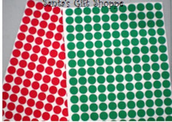 "220 1/2"" Vinyl Decal Polka Dot Gloss Sticker Sheet - 220 Polka Dots - Bachelorette Party - Christmas Dinner - Scrapbooking"