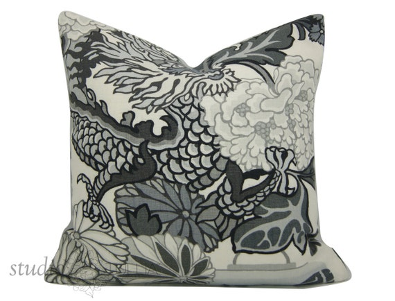 HOLIDAY SALE - Chiang Mai Dragon - Decorative pillow Cover - 20 inch ...