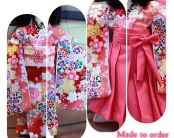 Hakama & Kimono  Yosd,Soom Tiny,Fairyland,Little Fee,DOLL Leaves 1/6 BJD.