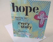 Hope Reminds Us (card)