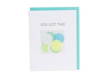 You Got This! Confetti Card™