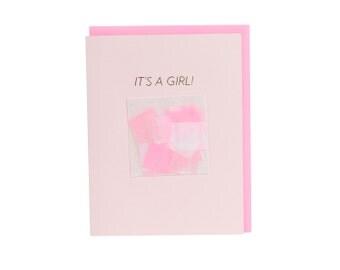 It's a Girl! Confetti Card™