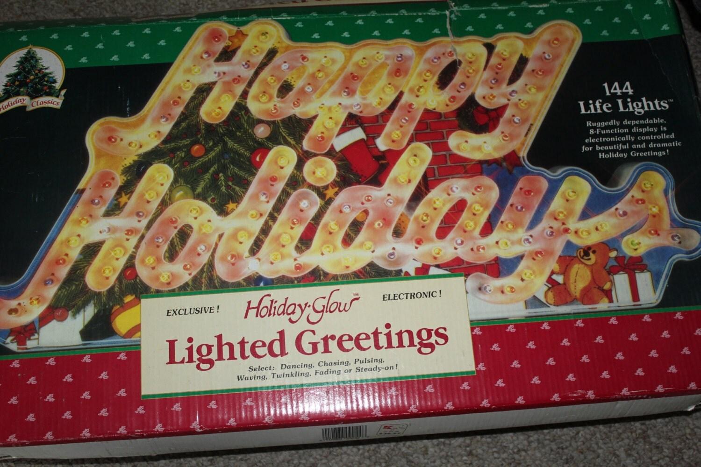 Multi Function Christmas Tree Lights