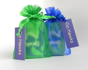 Seattle Seahawks Soap, 12th Man soap, Seahawks Fan Soap, Football soap