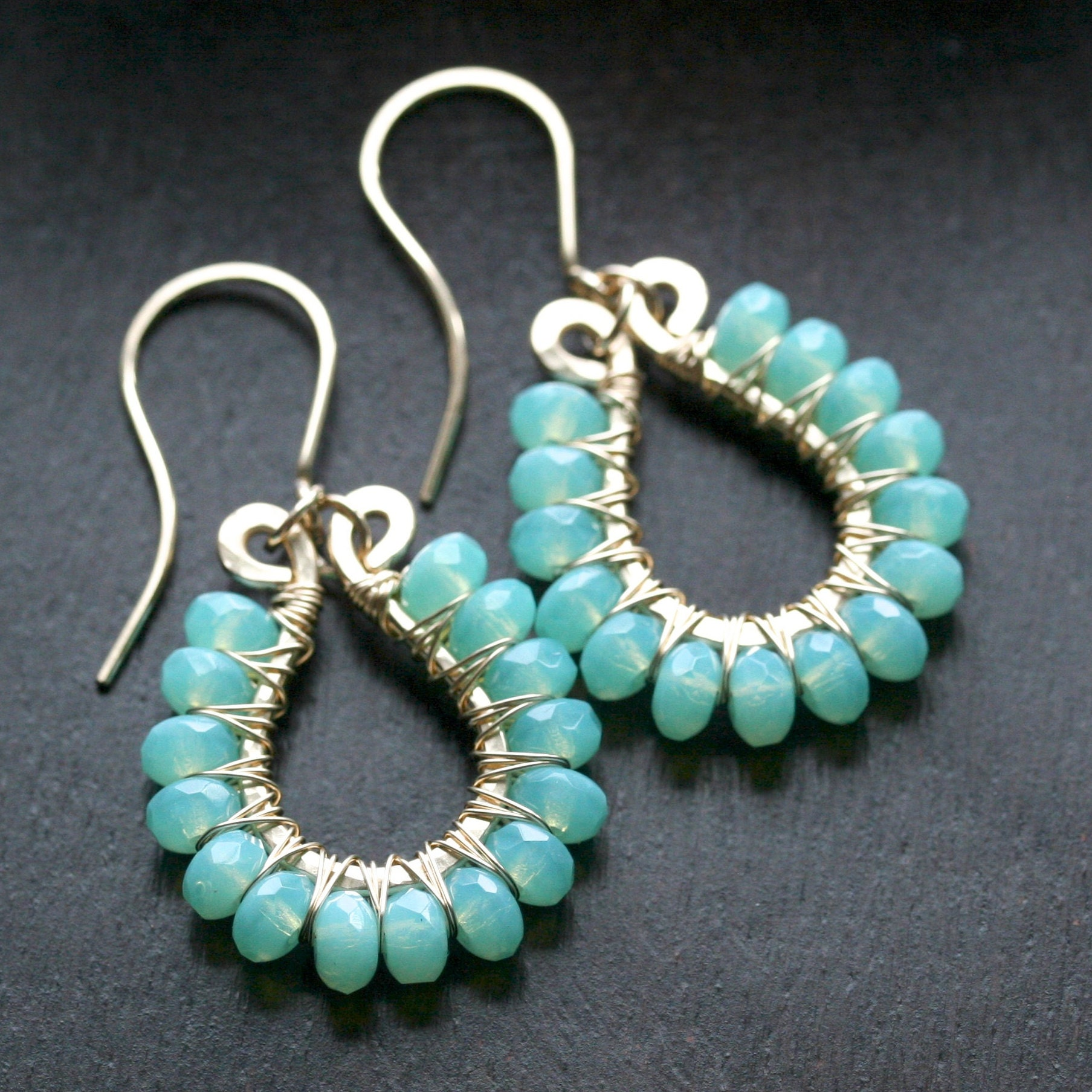 handmade jewelry earrings necklaces von MimiMicheleJewelry auf Etsy
