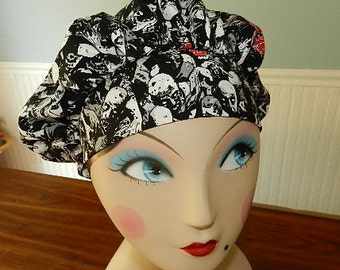 Walking Dead  Banded Bouffant Surgical Cap