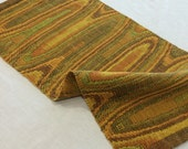 Fall Table Runner, Thanksgiving Decor, Midcentury Modern