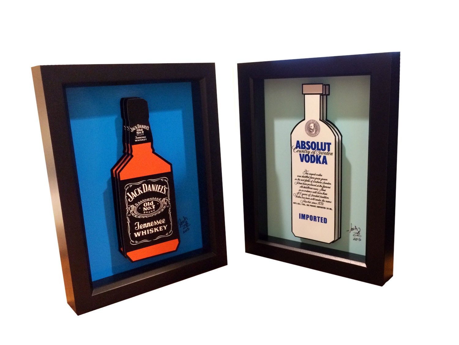 jack daniels bottle drawing - photo #27