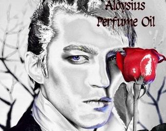 ALOYSIUS Perfume Oil - Old Wood, Rum, Leather, Sugar, Mint - Gothic Perfume - Pendergast