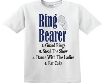 Ring Bearer Rules - Ring Bearer Shirt