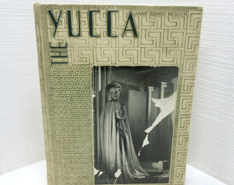 Vintage North Texas State Teacher's College Yucca Yearbook 1946
