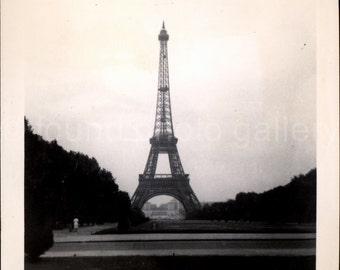 Digital Download, Eiffel Tower, We Are Paris, Download Instantly, Vintage Photo, Black & White Photo, Printable, Paris France