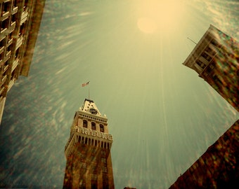 Art Photography, Lomography, Oakland, Bay Area, Architecture, Bright, Sunny, Surreal, Fine Art Print