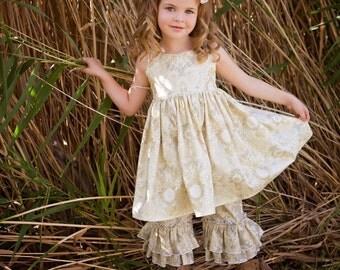 Girls Platinum Evelyn Dress Classic Style Dress with Twirl Skirt Toddler Infant Girls