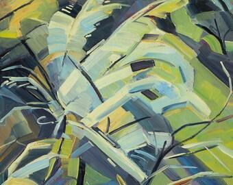 "Seasons of Sage - Winter 20""x20"" giclee print"