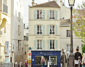 Streets of Paris IX, Montmartre