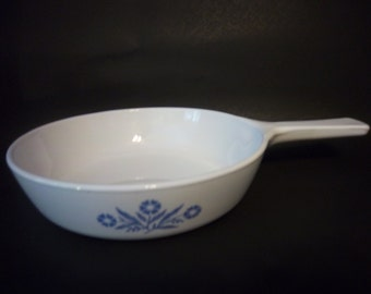 "Corning Ware Blue Cornflower P-83B 6 1/2"" Sauce Pan"