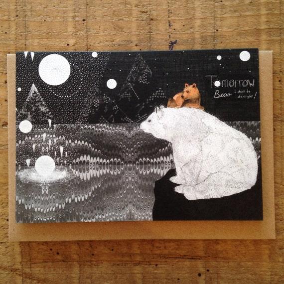 Tomorrow Bear // Greeting Card
