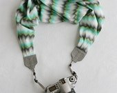 LAST CALL SALE - ocean waves scarf camera strap