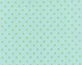 ONE YARD Lollies in Aqua and Green Hello Darling by Bonnie and Camille for Moda