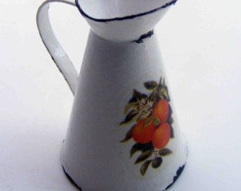 Enamel  pitcher