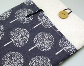 iPad Air case, iPad cover, iPad sleeve/ Samsung Galaxy Tab 3 10.1with 2 pockets, PADDED - Trees (a)