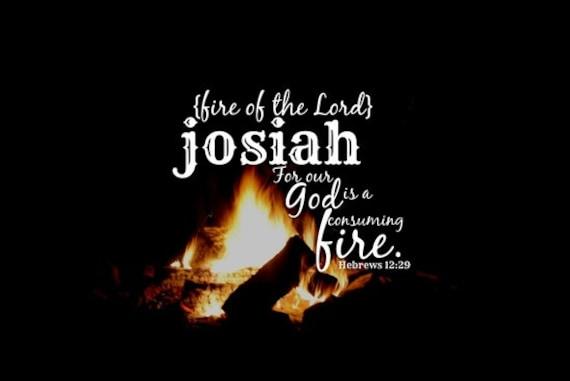 Items Similar To Name Bible Man Scripture Josiah Art