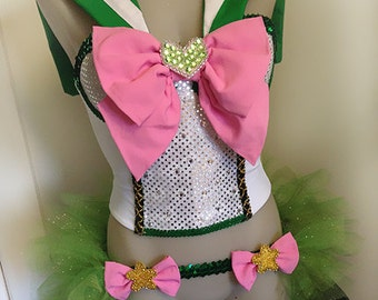 Sailor Jupiter Comicon Costume - Made to Order