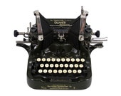Superb Oliver No. 7 Printype Typewriter in Excellent Working Order with New Ribbon - FREE Domestic Shipping
