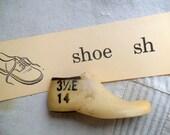 Vintage Child's Shoe Mold, Shoe Form
