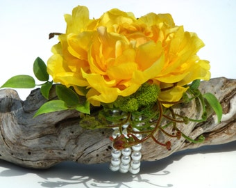 Wedding Corsage, Silk Flower Corsage, Prom Corsage, Corsages, Corsage, Wrist Corsage, Rose Corsage, Wedding Flowers,  ROSE GARDEN Collection