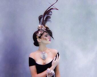 Vintage Inspired Mermaid Headpiece