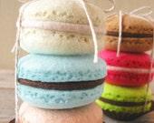 Felt Macarons