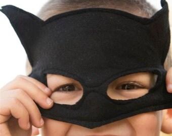 Batman Handmade girls boys Batman felt mask Toddler Batman costume accesories Super Hero mask for children toddlers and baby Natural gender