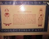 Miss Liberty and Uncle Sam Kit by Gail Wilson
