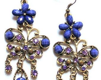 Vintage Bohemiam earrings