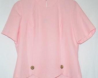 Vintage Eighties Pink Top