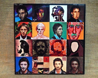 The Who - Faces Dances - 1981 Vintage Vinyl Record Album