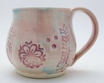 Tie-Dye Mug in Pastels, Ready to Ship