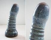 High fire fine art ceramic dildo 1019