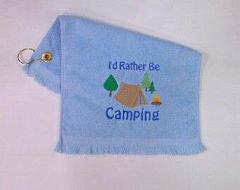 Sports towel for camping