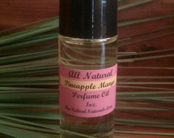 Pineapple Mango Concentrated Perfume Oil Roll On