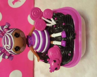 Kawaii decoden lalaloopsy lollipop girl container
