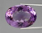Brazilian Natural Unheated Light Purple Amethyst 9562