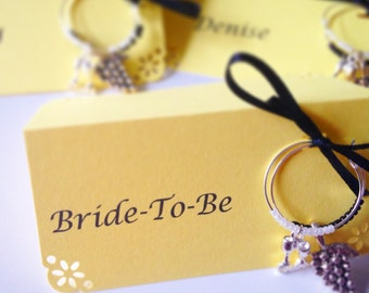 UPGRADE listing for Typed names on Tented Place Cards